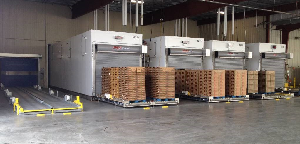 Automated Berry Cooler's Technology Invigorates Precooling Industry